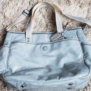 Rare Coach Diaper Bag